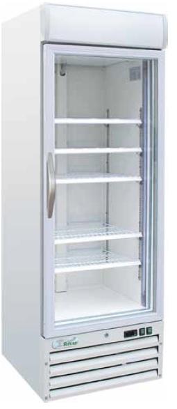 Klaasuksega külmkapid
