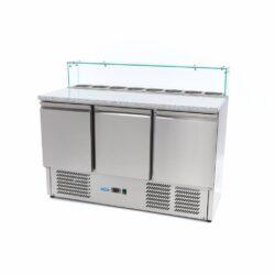 Pitsa külmtöölaud Maxima Klaas 3