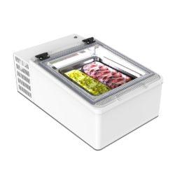 Lauapealne jäätise vitriin Mini Cream 2