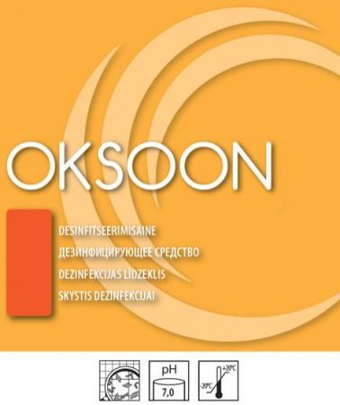 Kiiretoimeline lõhnatu desinfitseerimisaine OKSOON
